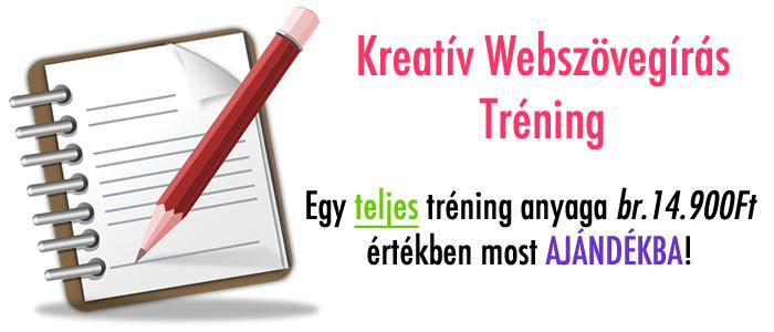 Kreatív Webszövegírás Tréning
